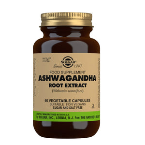 Solgar Ashwagandha Root Extract Vegicaps 60