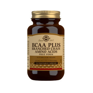 Solgar BCAA Plus (50 Caps)