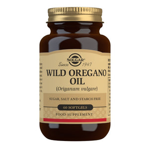 Solgar Wild Oregano Oil Softgels 60