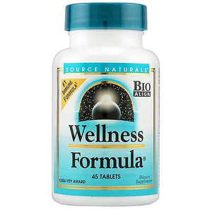 Source Naturals Wellness Formula ( Herbal Defense Complex ) 45 Tablets