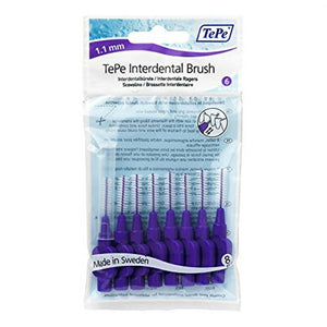 TePe Interdental Brushes Purple Original - size 6 (Pack 8)