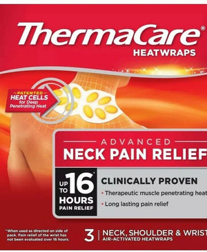 Thermacare HeatWrap Neck & Shoulder Stretch (3 Patch)