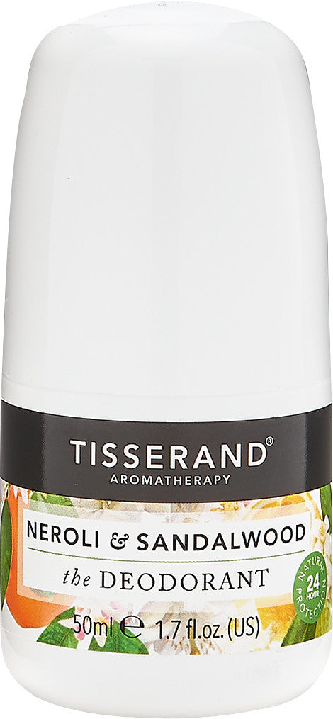 Tisserand Neroli and Sandalwood Deodorant 50ml