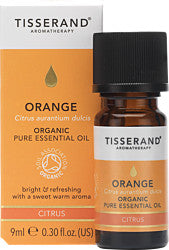 Tisserand Aromatherapy Orange Organic Pure Essential Oil 9ml