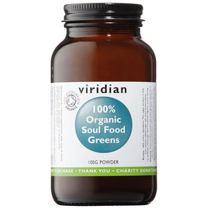 Viridian Soul Food Greens Powder Organic 100g