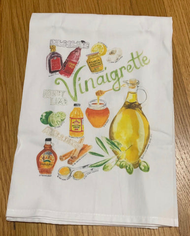 Tea Towel - Vinaigrette