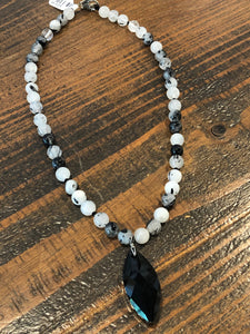 Necklace - Stone Agate