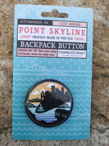 Pin - Pittsburgh Skyline