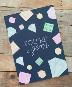 Card - You're a Gem