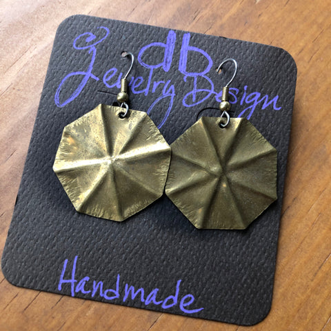 Earrings - Brass