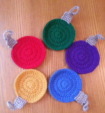 Ornament - Crochet Set of 5 Balls