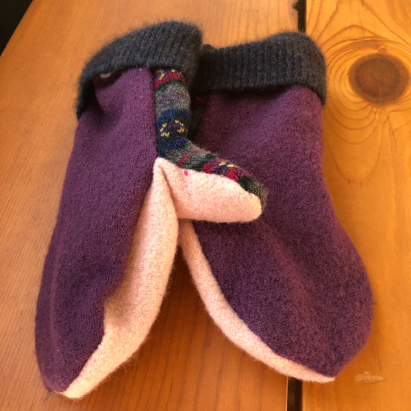 Mittens - Upcycled Materials