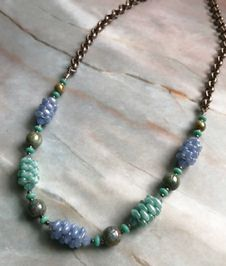 Necklace - Czech Glass Beaded