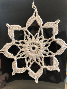 Ornament - Crochet Snowflake
