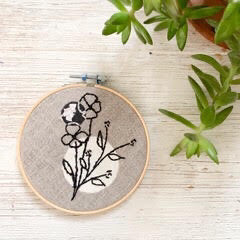 Wall Decor - Embroidery