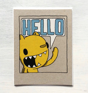 Card - Bear Hello