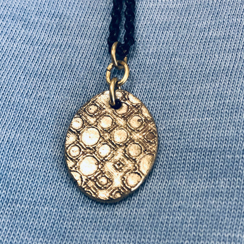 Necklace - Bronze Pendant