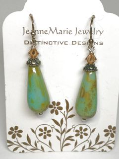 Earrings - Czech Glass Drops