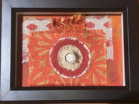 Fiber Art - Framed