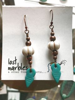 Earrings - Glass Dangle