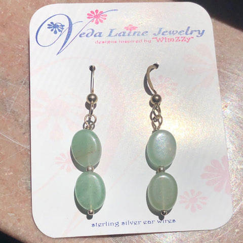 Earrings - Stone Aventurine