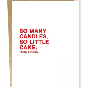 Card - Sarcasm Birthday