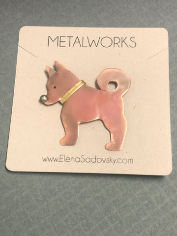 Pin - Copper Dog