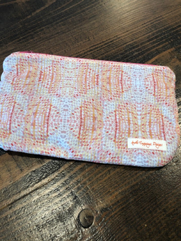 Zippered Pouch - Dots
