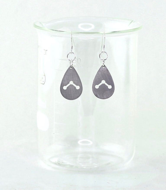 Earrings - Water Molecule