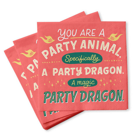 Cocktail Napkins - Party Animal