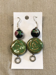 Earrings -  Glass