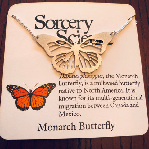 Necklace - Monarch Butterfly
