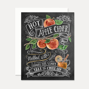 Card - Hot Apple Cider