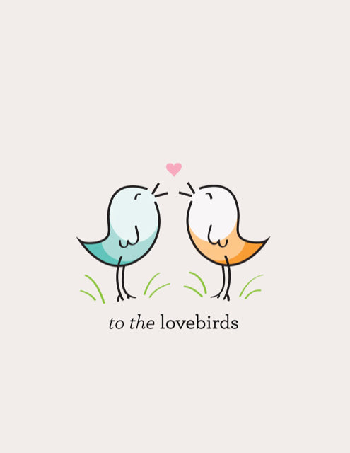 Card - Lovebirds