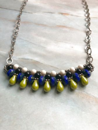 Necklace - Swarovski and Czech Glass Beads