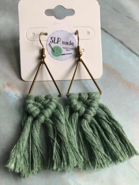 Earrings - Macrame