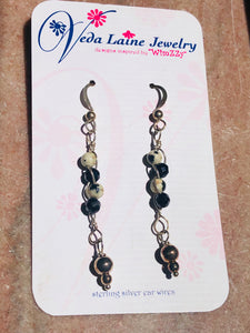 Earrings - Stone Jasper Drops
