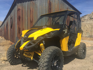 Can Am Maverick XRS Vented Windshield