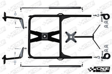 Load image into Gallery viewer, Cage Wrx-RZR XP 1000/Turbo/ Turbo S Spare Tire Carrier - High Clearance