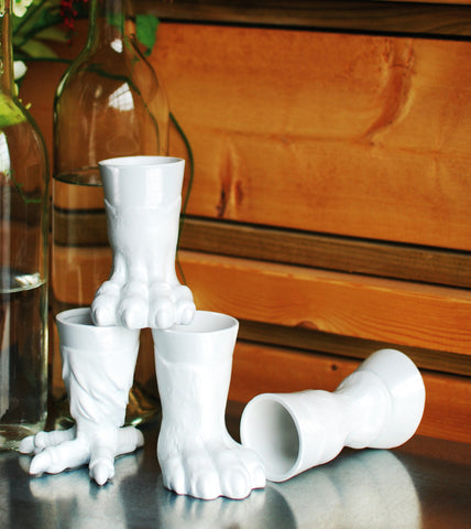 Wild Owl Claw Cool Shot Glasses