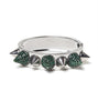emerald-rhinestone-spiked-fashion-bangle-bracelet