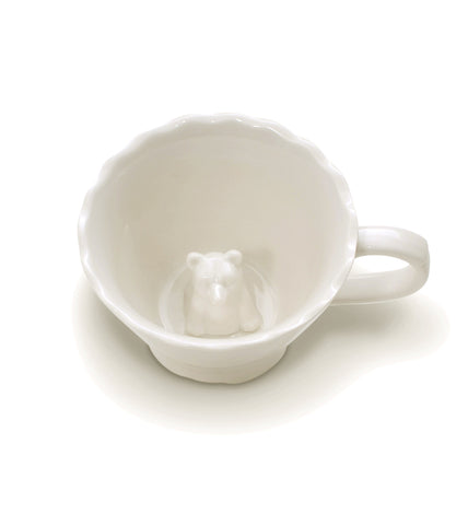 Hidden Bear Teacup