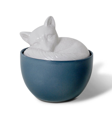 sleeping-fox-ceramic-kitchen-canisters