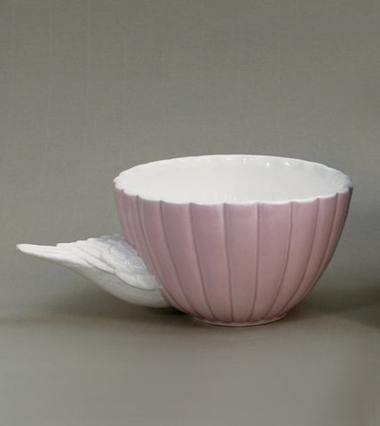 Flying In Sparrow Teacup