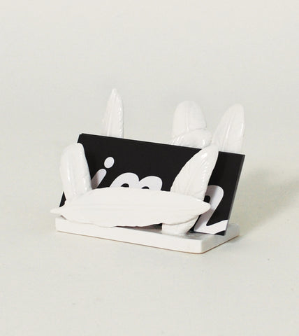 Fine Feathers Card Holder Cute Stationery