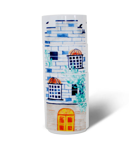 Brownstone House Stacking Mugs