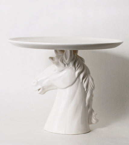 white-horse-pedestal-footed-cake-plate