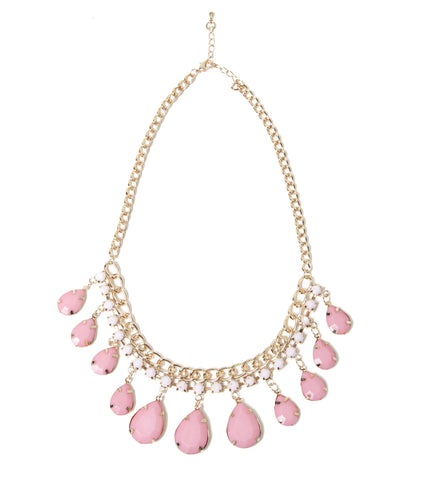 petal-fashion-statement-necklace-pink