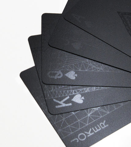 Deck of Cards Black