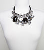 black-sparkling-crystal-ribbon-fashion-statement-necklace